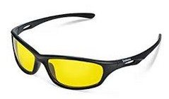 Yellow night glasses