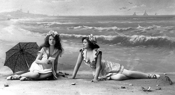 victorian bathing suit